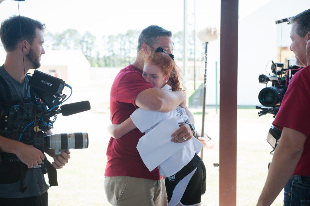 Kenzie-Derek hug