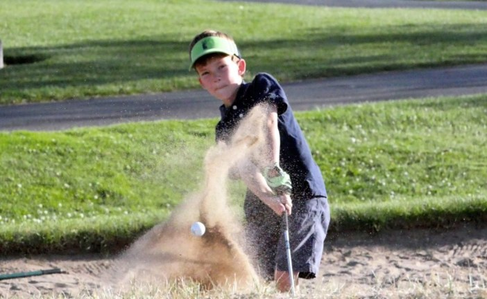 9-year-old Seth is taking a swing at the golf industry
