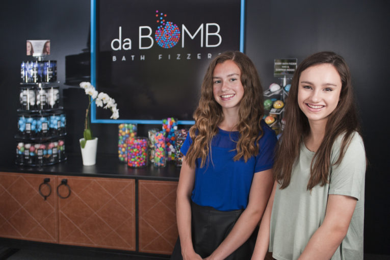 These Sister Kidpreneurs are da Bomb with their Bath Fizzers Business