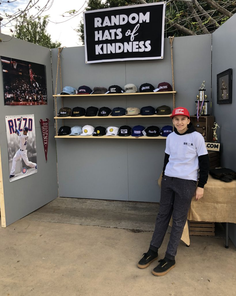 Jayce McGuirk Random Hats of Kindness