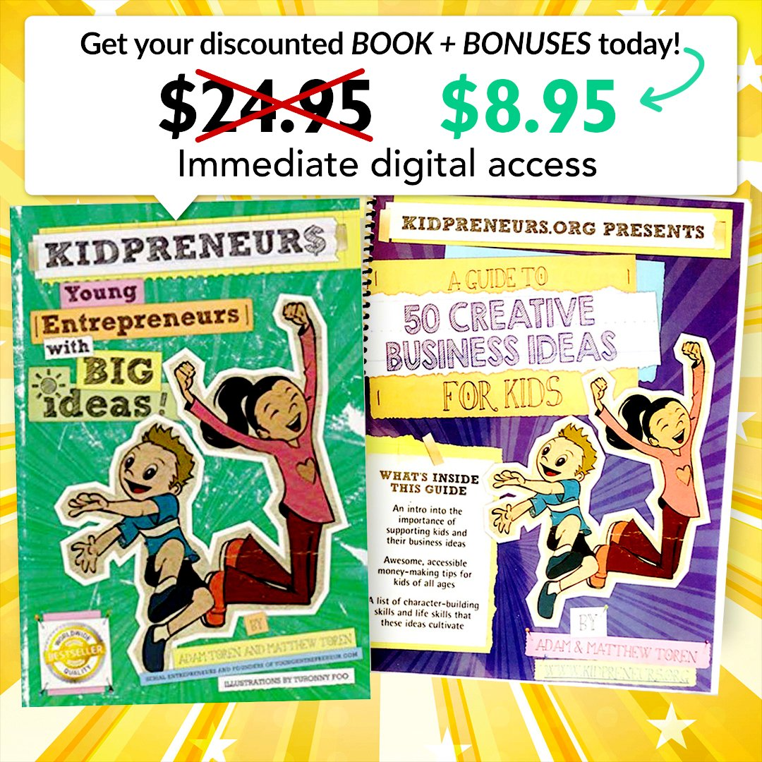 Kidpreneurs Digital Book